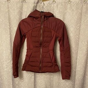 COPY - Lululemon light weight down jacket. Size 2